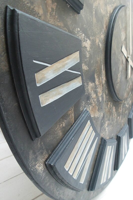 Etsy Big wall Clock number 10