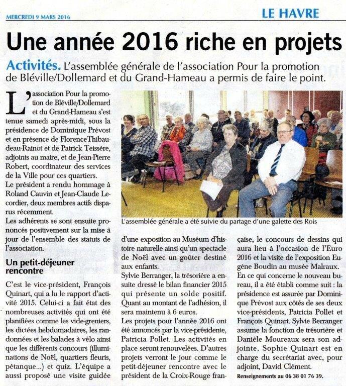 Havre Presse 2016-03-09 Ass générale