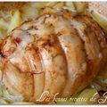 Rôti de dinde au thym & petites pommes de terre