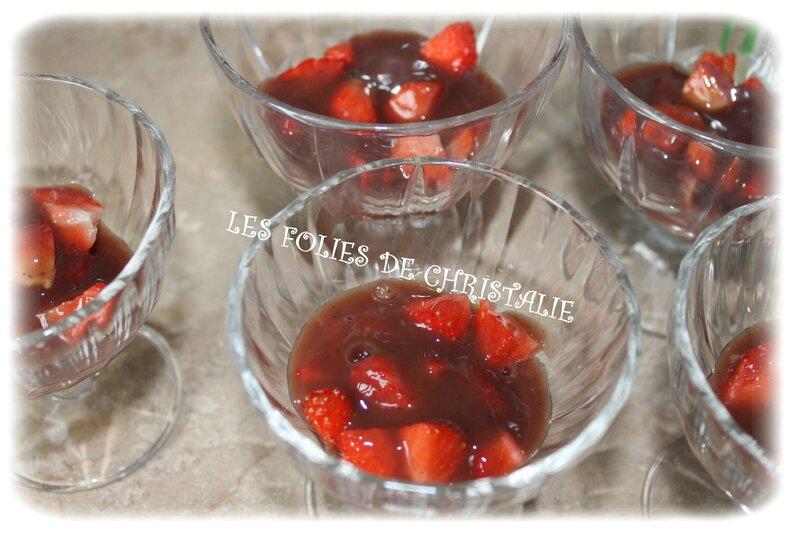 Crème vanillée fraises 2