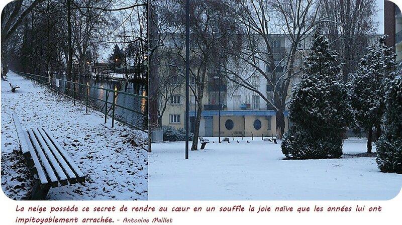 Quartier Drouot - Neige