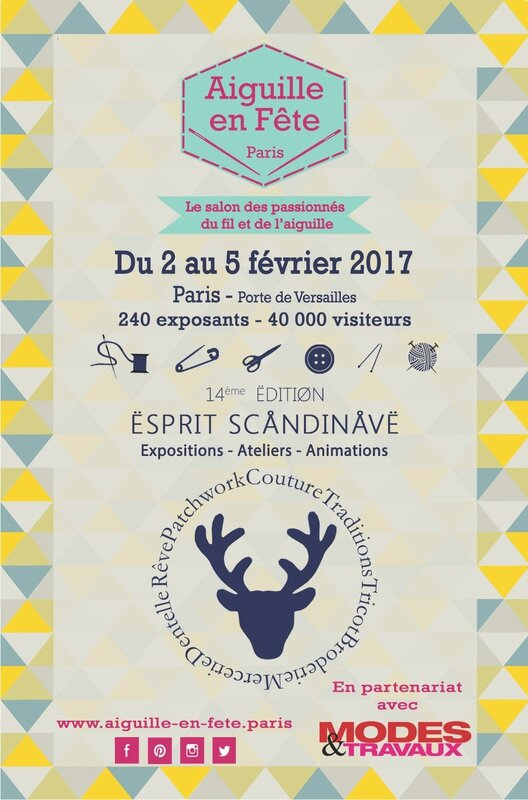 Affiche salon Aiguille en Fête 2017