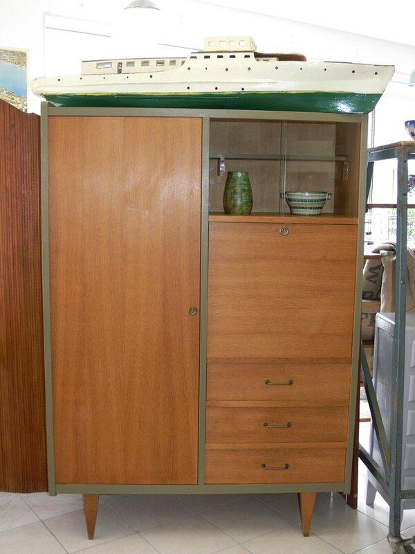 Armoire Secrétaire Vintage