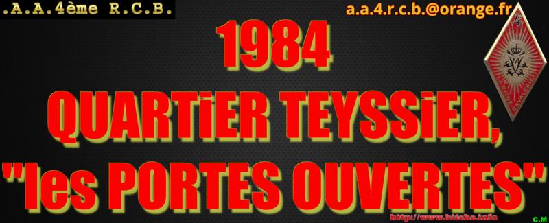 1984 QUARTiER TEYSSiER les PORTES OUVERTES