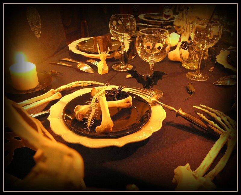 assiette de l'invité