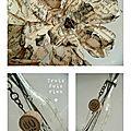 Fiole et fleurs papier N°9 (2)