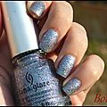 Liquid crystal, china glaze