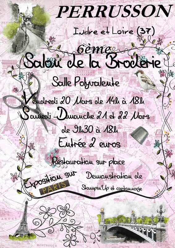 affiche salon perusson