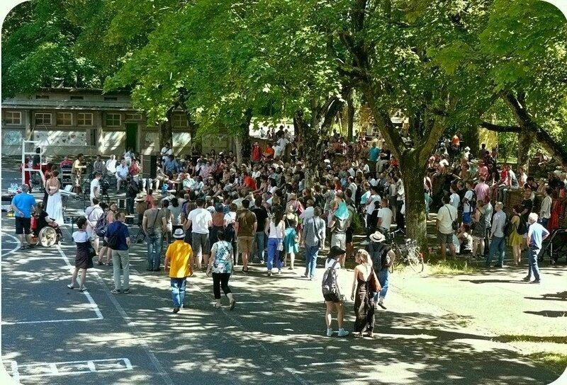Quartier Drouot - Scènes de rue 2016