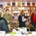 A la librairie Villa Seurat à Pontivy