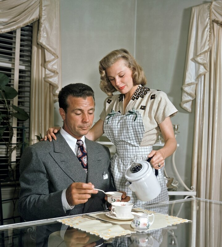 Dick Powell & June Allyson