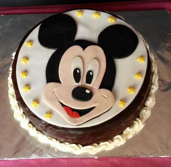 gâteau Mickey