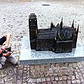 Jénorme photographie la Bazylicka Mariacka, Gdansk (Pologne)