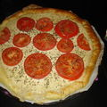 Ma premire tarte au thon : version tomates et herbes de Provence