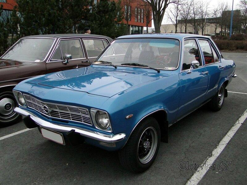 opel ascona a 16sr berline 4 portes 1970 1975 a