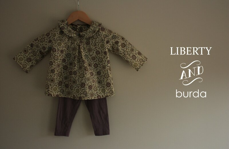 Tunique Liberty Mab patron burda