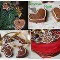 Biscuits sablés au chocolat et petits pains d'épices