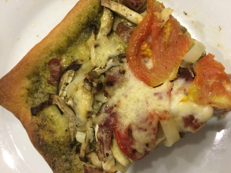 PizzaAuberginePesto