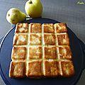 Gâteau invisible pommes et poires