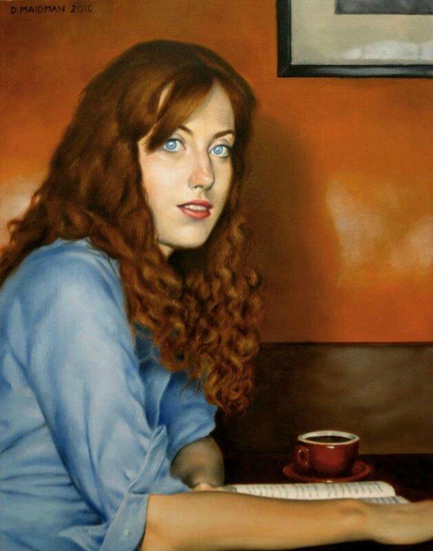 Rachel au café