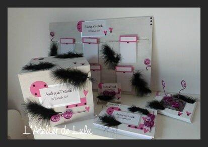 decoration plume pour mariage