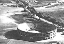 Plaza de torros en 1950