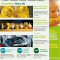 Greenapeace newsletter mars 2009