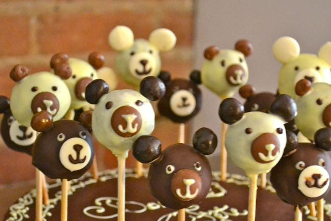 cake pops ourson au chocolat une vie de patachou. Black Bedroom Furniture Sets. Home Design Ideas