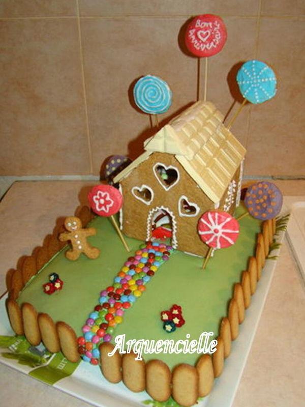 Les bonbons pour sensation cuisine scrap cook les - Maison en biscuit et bonbons ...
