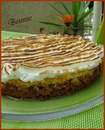 Key lime pie ou tarte citron americaine