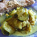 Courgettes a l indienne