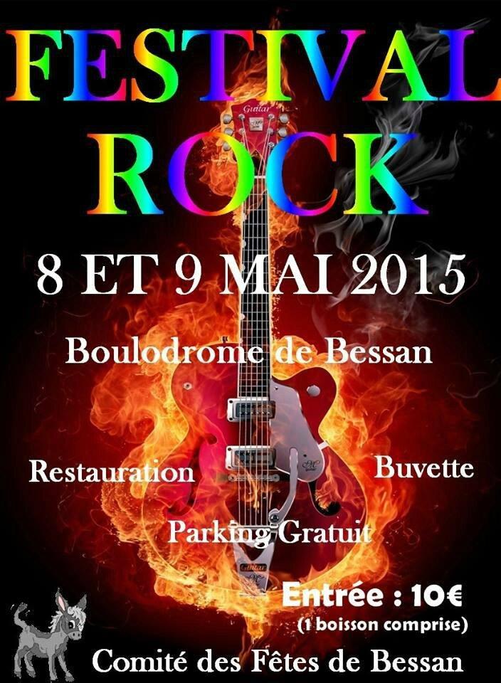FESTIVAL ROCK DE BESSAN