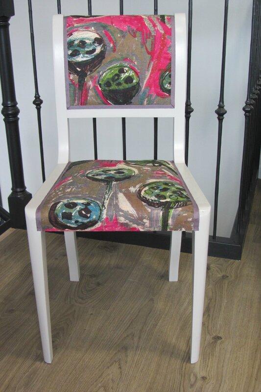 chaise retapissée côté sièges Brest