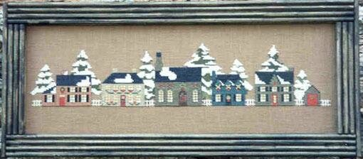 christmas country village