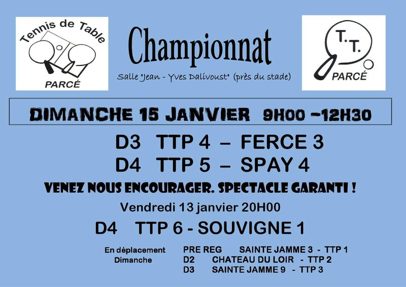 Affiche TTP Phase 2 J1