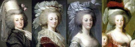 Marie-Antoinette années 1780