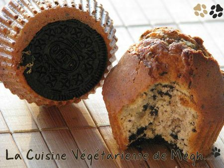 Muffins aux Oreo