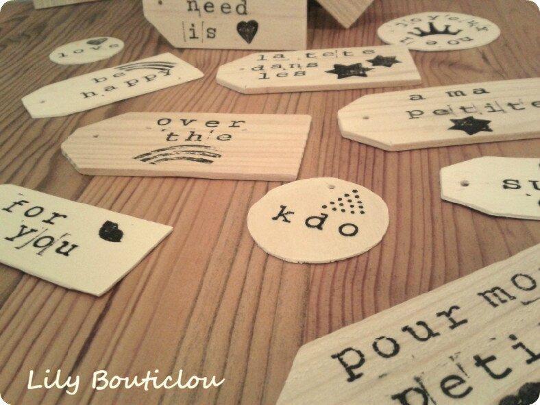 etiquettes bois recup wood tags lilybouticlou