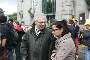 manifestation anti THT EPR Avranches 29 septembre 2012 Gervais Marie-Doutressoulle avocat Corinne Harel