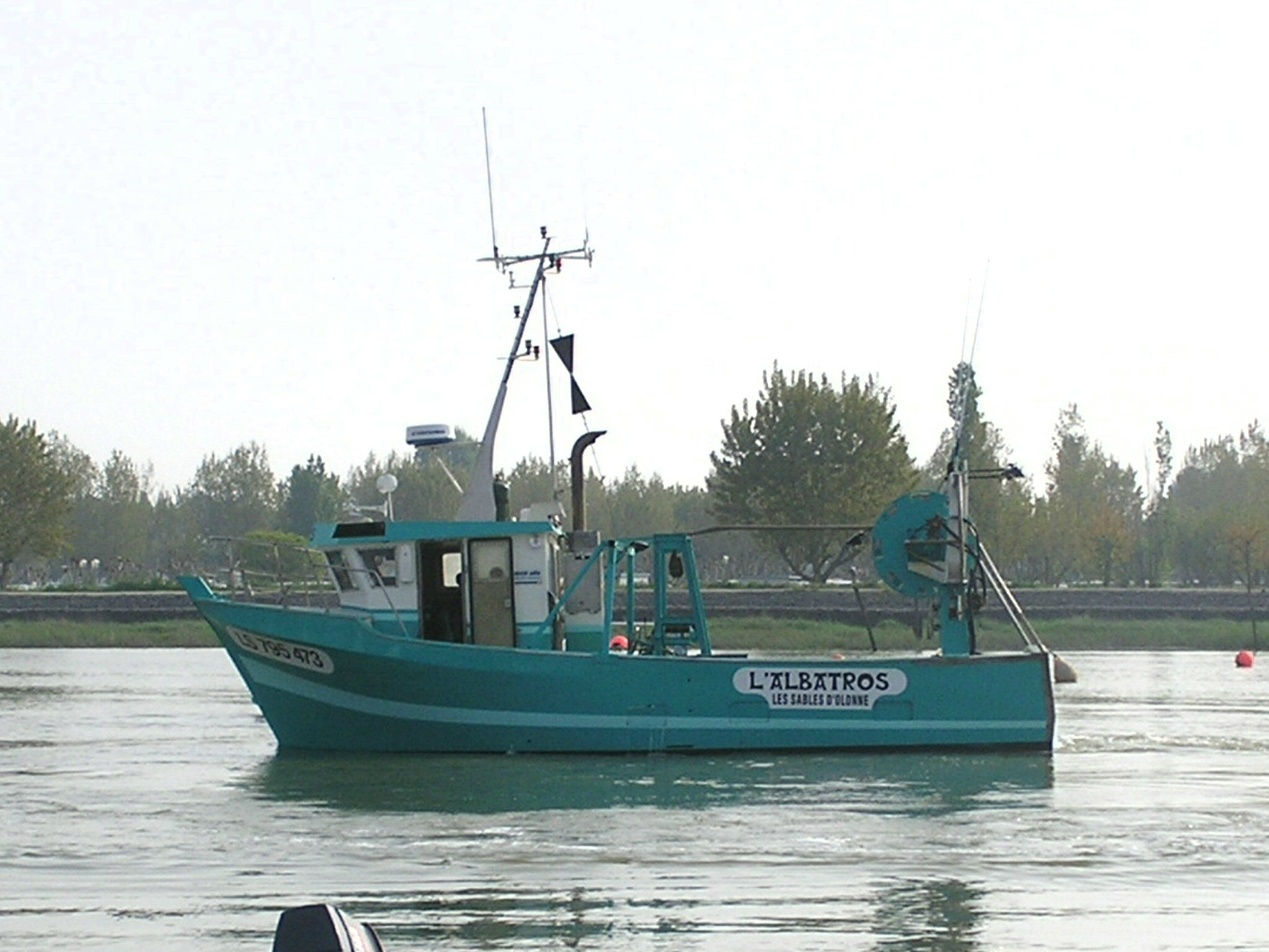 bateau l'albatros