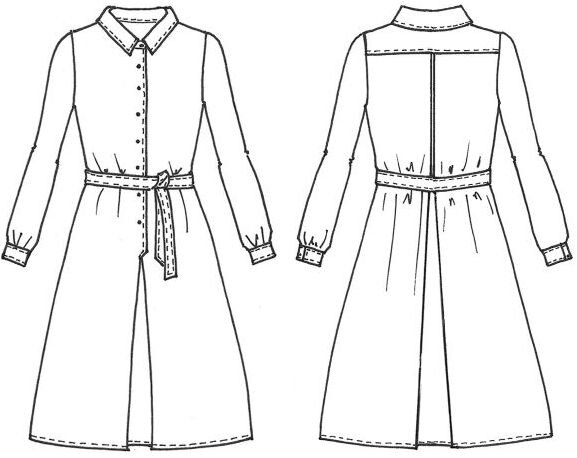 Cousette Patterns - Robe Cachette