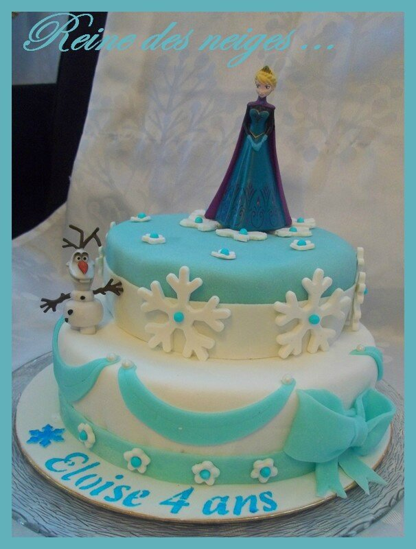recette gateau anniversaire la reine des neiges facile les recettes populaires blogue le blog. Black Bedroom Furniture Sets. Home Design Ideas