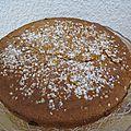 Gâteau sans beurre et sans oeuf