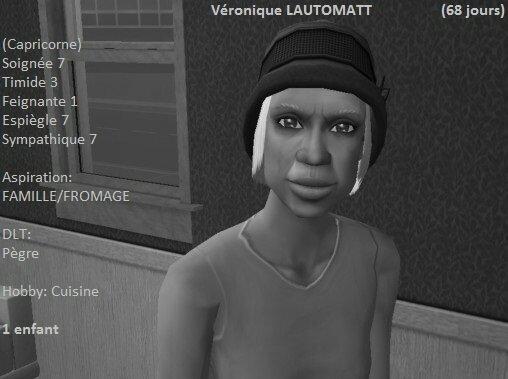 Véronique Lautomatt (69 jours)