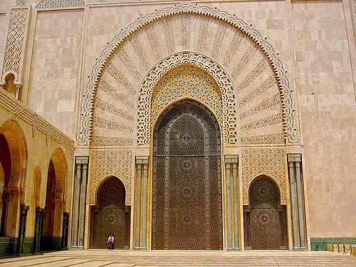 Ca part en voyage for Mosquee hassan 2 interieur