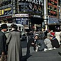 Piccadilly Circus in 1953, by Robert Capa