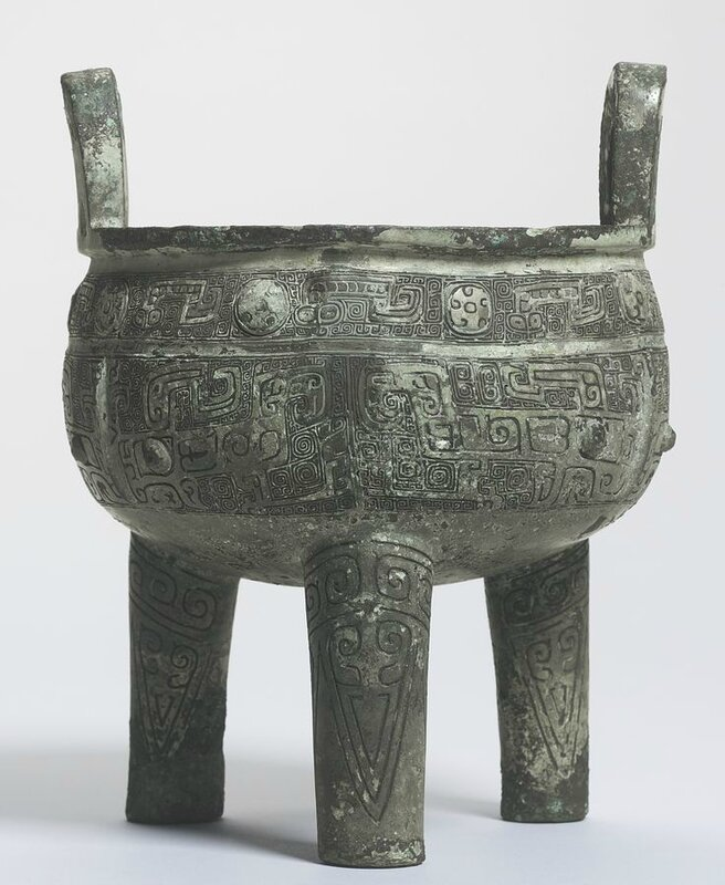 The Quan Zu Xin Zu Gui Ding An important inscribed bronze tripod, Shang dynasty, 13th-11th century BC2
