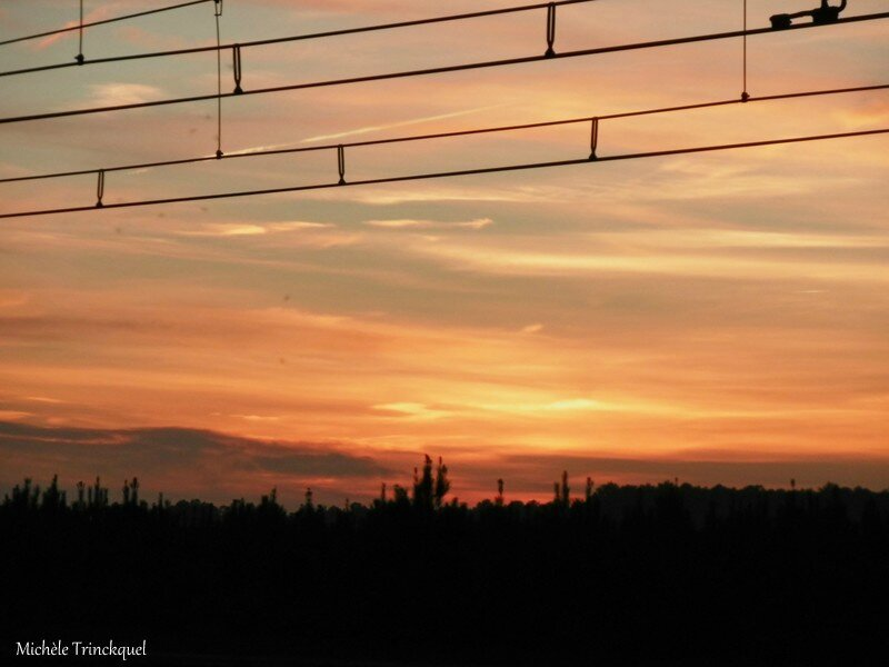 Coucher de soleil Laluque 271116