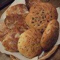 Petits pains lard et oignons