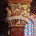 Issoire ( chapiteaux de l'église )